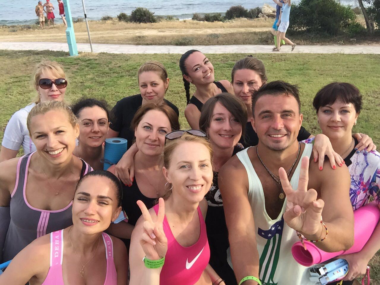Фитнес тур на Кипр