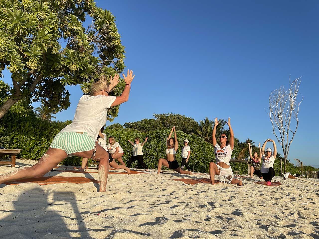 фитнес-тур мальдивы