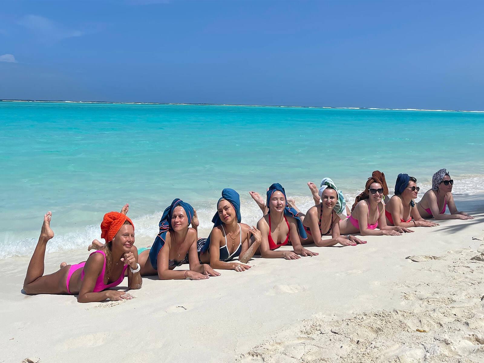 Фитнес-тур на Мальдивах