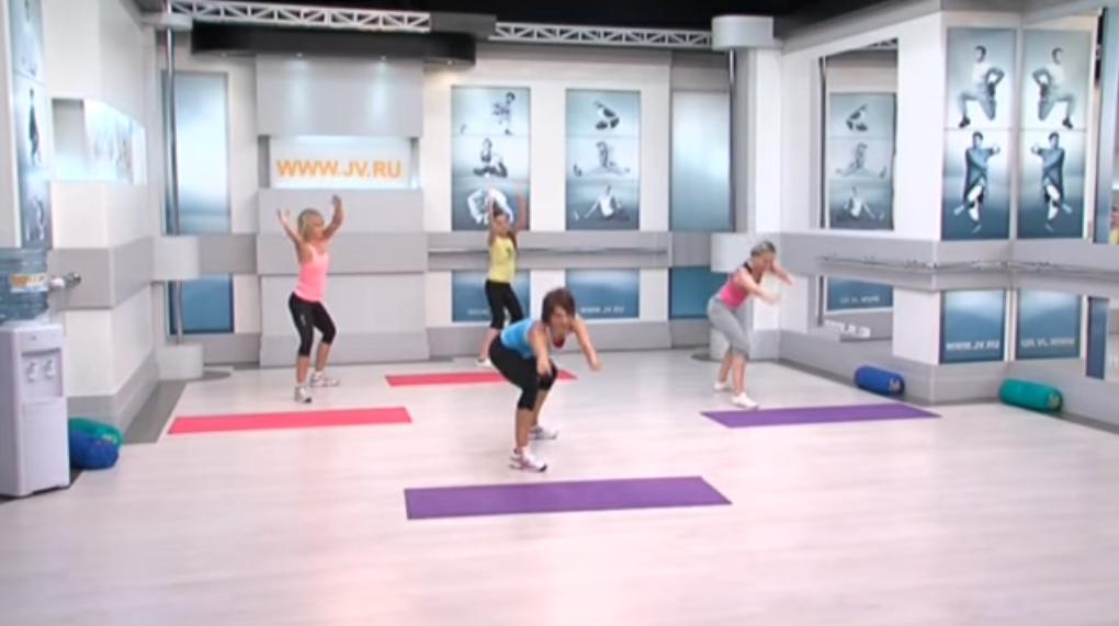 Флексислим: Усложняем наши упражнение круговыми движениями руками