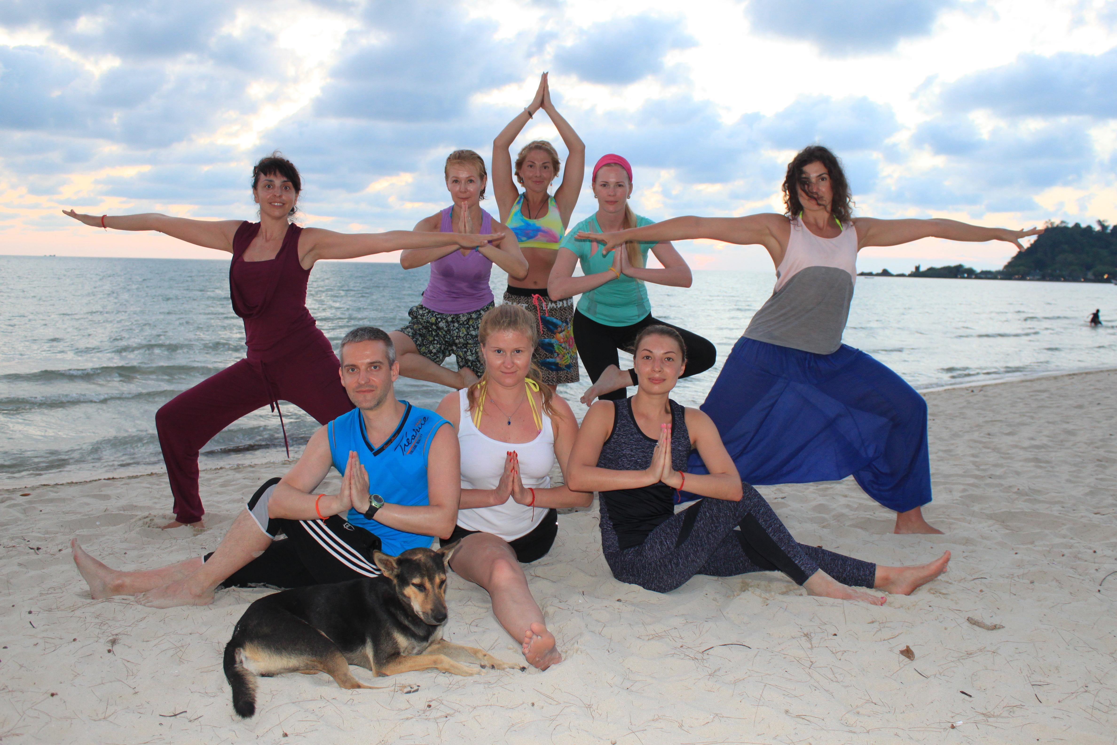Массаж йога для женщин